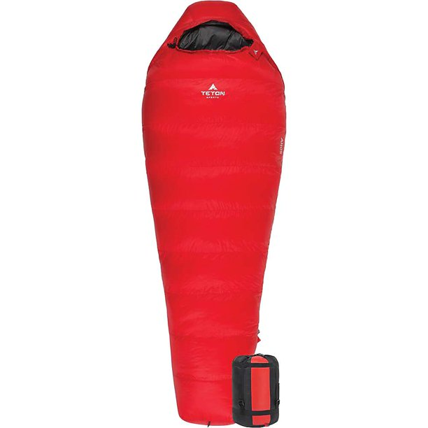 TETON Sports Altos -10F Ultralight Down Mummy Bag