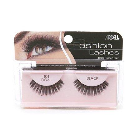 Ardell Glamour Lashes False Eyelashes, #101 Black, 1 pair