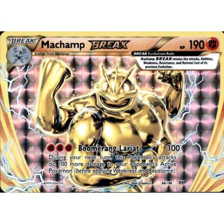 Pokemon Evolutions Machamp BREAK - Break Cards