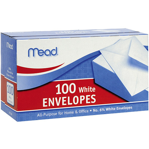 "Boxed Envelopes, 3.625"" x 6.5"""