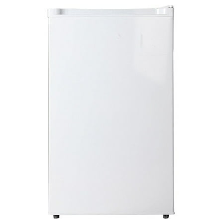 Midea Compact Single Reversible Door Upright Freezer, 3.0 Cubic Feet, White
