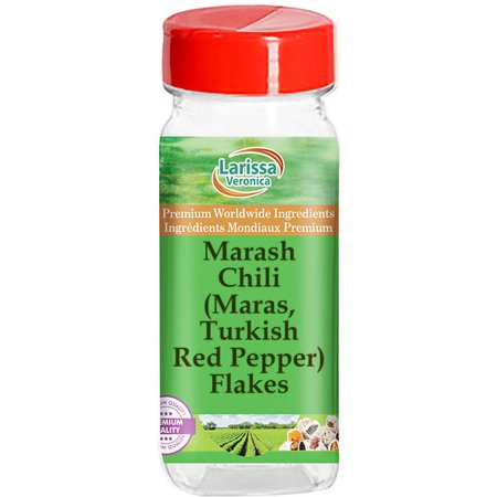 Marash Chili (Maras, Turkish Red Pepper) Flakes (1 oz, ZIN: 526599)