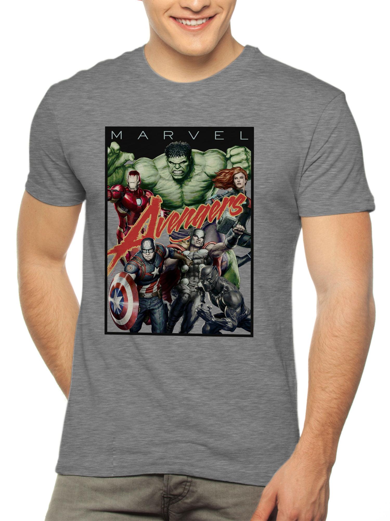 Men's Marvel Avengers Short Sleeve Graphic T-Shirt, up to 2XL