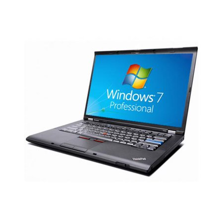 Refurbished Lenovo ThinkPad T400 Notebook - WEBCAM - Core 2 Duo 2.40GHz - 4GB DDR3 - 160GB - DVDRW - Windows 7 Pro 64bit