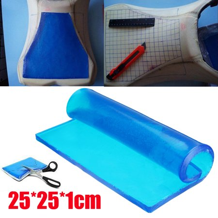 """New DIY Modified 1cm Thickness Damping Polyurethane motorcycle accessorie Spandex Gel Pad Motorcycle Seat Cushion Comfortable Mat Shock Absorption Mats 10x10"""""""