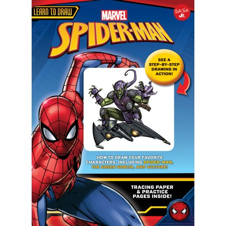Spider Halloween Art Projects (Learn to Draw Marvel Spider-Man : How to draw your favorite characters, including Spider-Man, the Green Goblin, and)