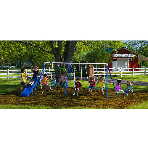 Flexible Flyer Fantastic Playground Metal Swing Set