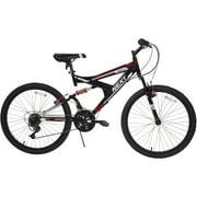 "24"" Boys' 18S Gauntlet/Next Bike, Black/Red"