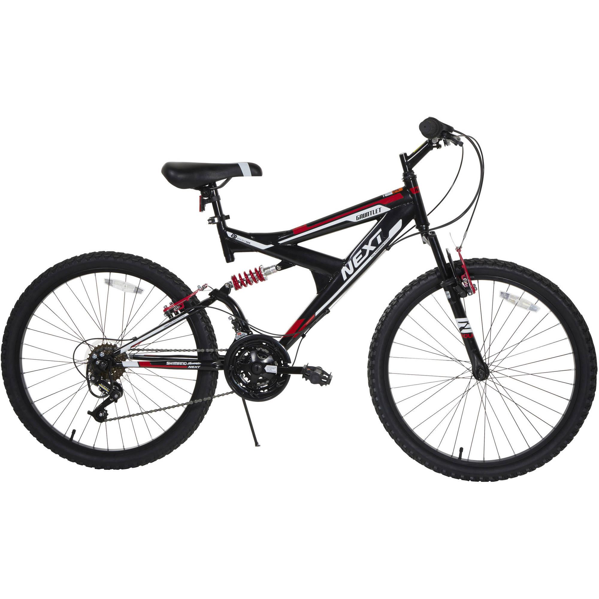 24 Quot Boys 18s Gauntlet Next Bike Black Red Walmart Com
