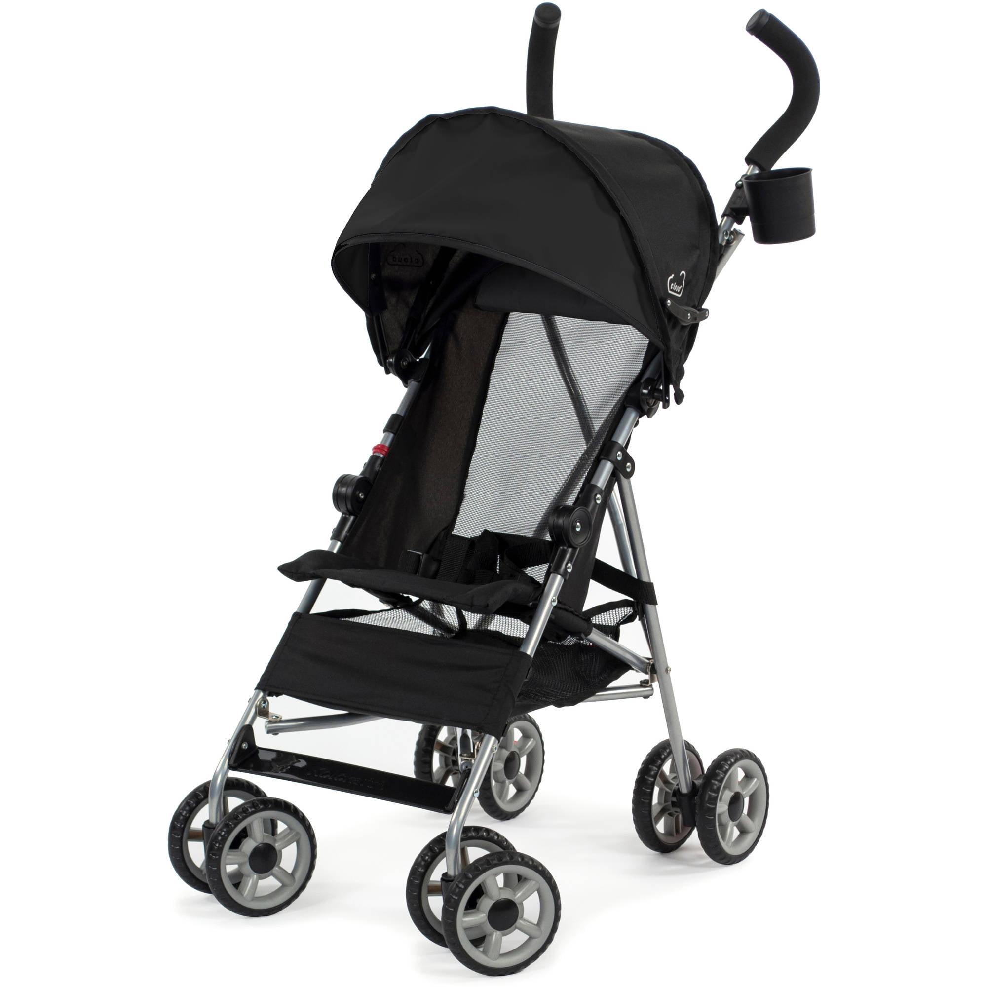 Kolcraft Cloud Umbrella Stroller, Black - Walmart.com