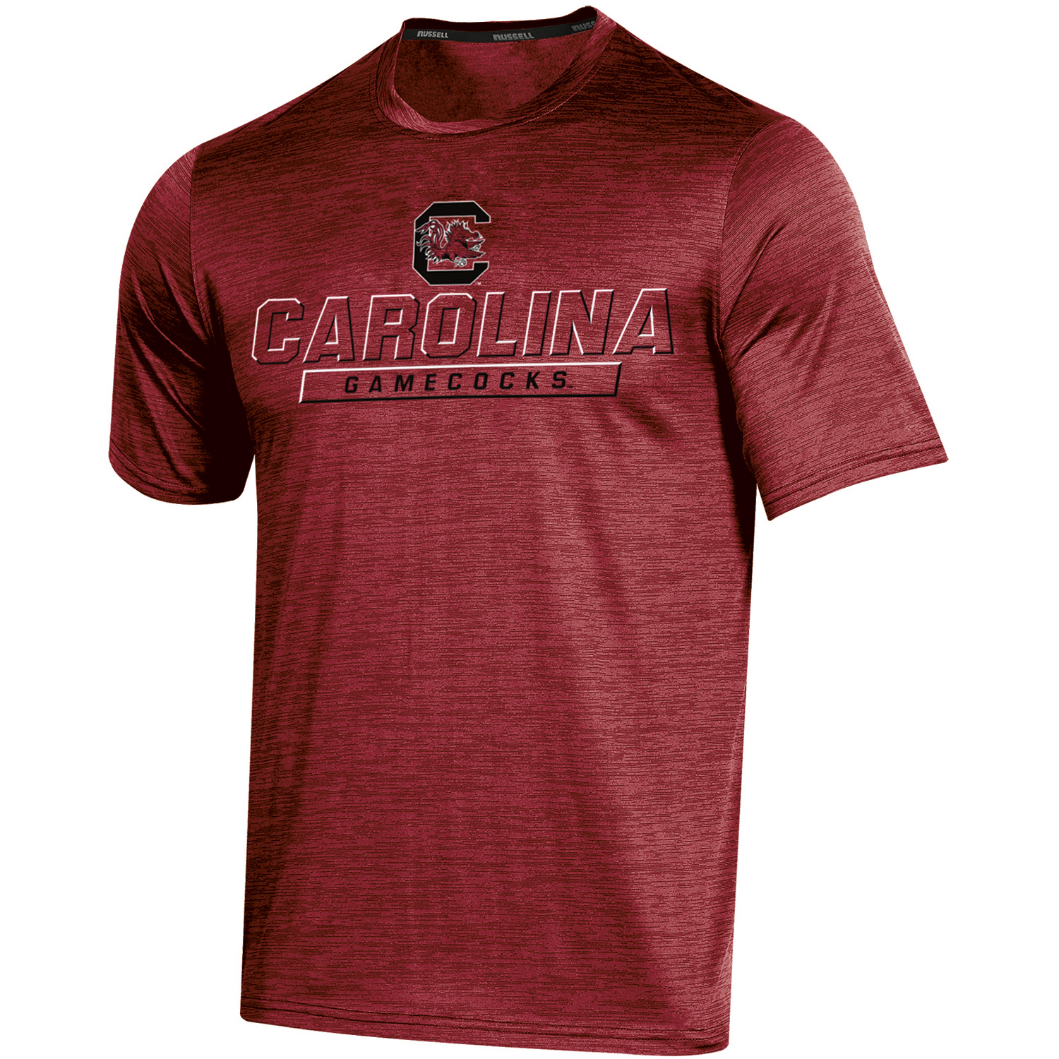 Men's Russell Garnet South Carolina Gamecocks Synthetic Impact T-Shirt