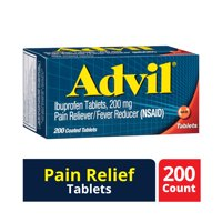 Advil Pain Reliever/Fever Reducer (Ibuprofen) 200mg Tablets 200 ct Box