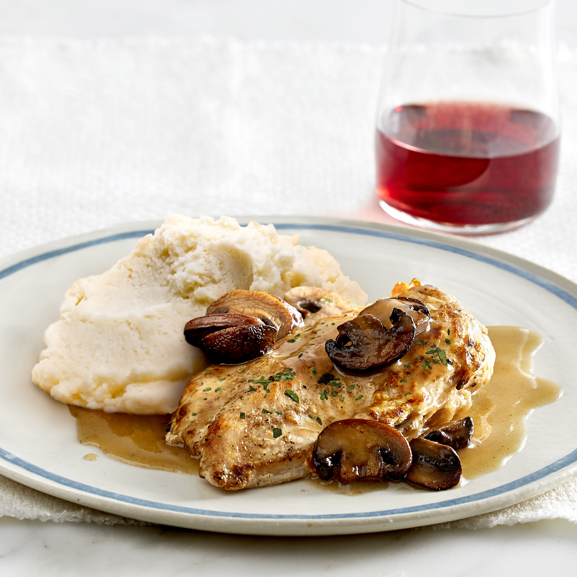 Babeth's Feast - 6 Meals - Chicken Marsala & Simple Potato Puree - Heat & Serve- individually portioned