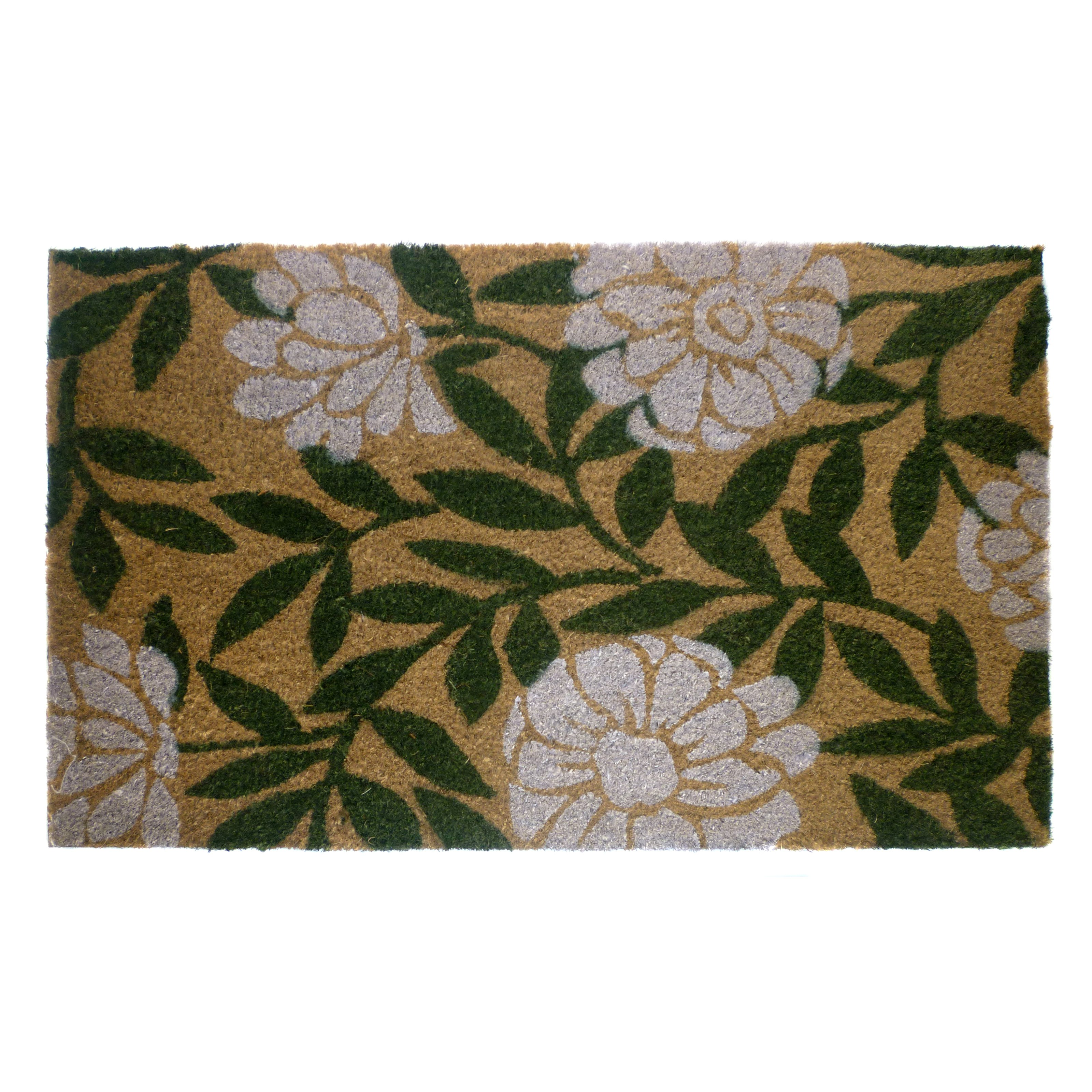 Geo Crafts Geraniums Doormat