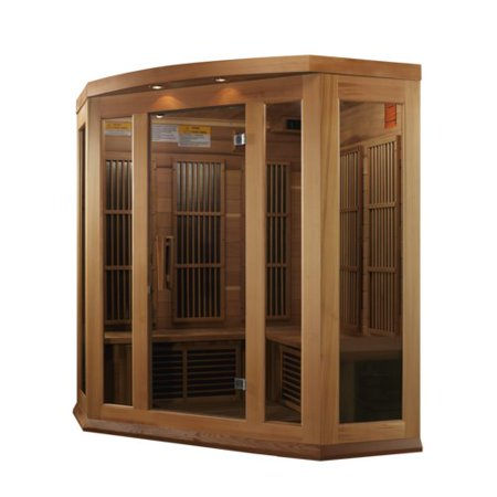 Dynamic Infrared Luxury Series 3 Person FAR Infrared Sauna