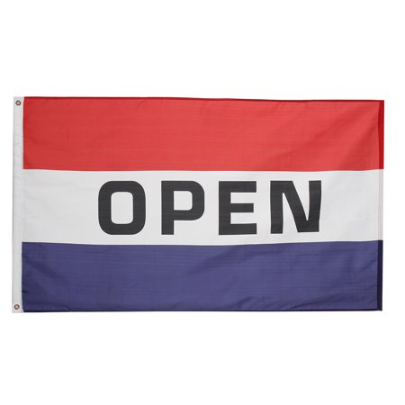 Business Open flags Outdoor Open Banner ,OPEN Vertical Flag Business Store Advertising Banner Pennant Restaurant Sign 3x5 for $<!---->