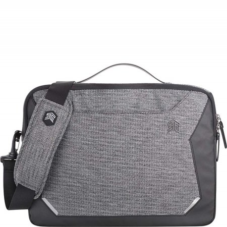 STM Black Myth Fleece-Lined Brief Case for 15.6