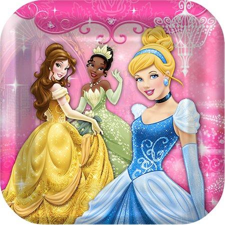 Hallmark Party Disney Princess Dinner Plates