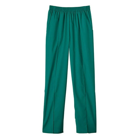 Clearance Fundamentals By White Swan Women's Pull-On Front Seam Scrub Pants Small Tall - Tall Swan