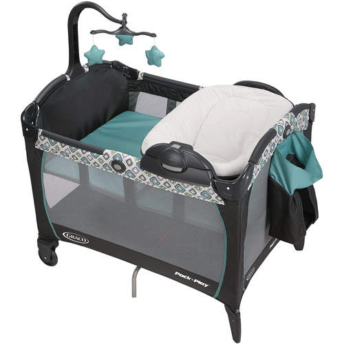 Graco Pack 'n Play Playard Portable Napper and Changer, Affinia