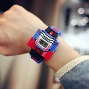 Children Kids Watch Cartoon Watch Robot Toy Wristwatch Sports Watches