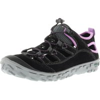 7f0e890c0b39f8 Hi-Tec Women s Ezeez Shandal I Black   Charcoal Orchid Ankle-High Fashion  Sneaker - 6M