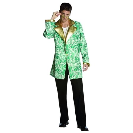 Money Man Costume Jacket Only Adult Standard