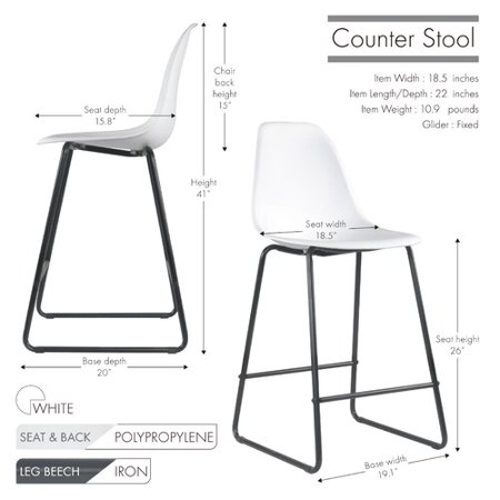 Awesome Wrought Studio Elvira Counter 26 Bar Stool Set Of 2 Bralicious Painted Fabric Chair Ideas Braliciousco