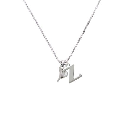 Cowboy Hat - Z - Initial Necklace