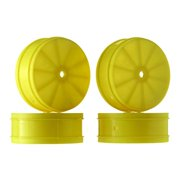 JCONCEPTS 3365Y 1/10 Bullet 60mm Front Wheel Yellow (4) TLR22