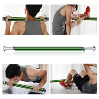 IMAGE Gym Pull Up Bar Doorway Chin Up Bar Fitness Exercise Trainer Bar Maximum Afford 200kg/440lb, Adjustable 60cm/23.6inch to 100cm/39.3inch