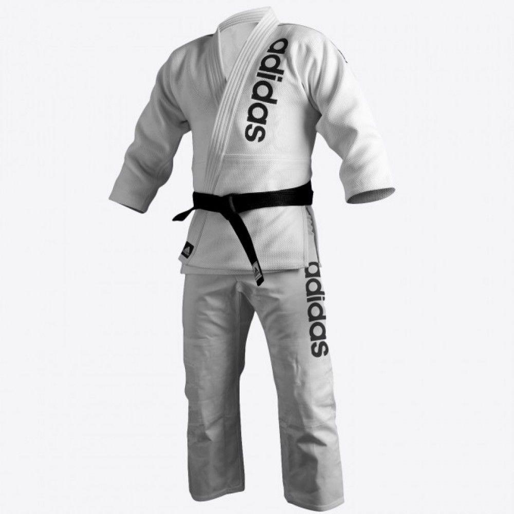 adidas Jiu-Jitsu Martial Arts Double Weave Gi, White