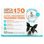 ASPCA Extra Large Ultra-Absorbent Training Pads for Adult Dogs and Puppies, 50 count