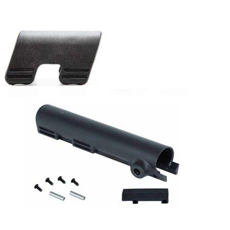 Thordsen Customs Black Ar15 Ar 15  223 5 56 Carbine Black Rifle Enhanced Qd Quick Detach Swivel Strap Hardpoints Tube Cover Kit Legal In Ca Ny   Ultimate Arms Gear Cheek Rest 0 7  Low Riser
