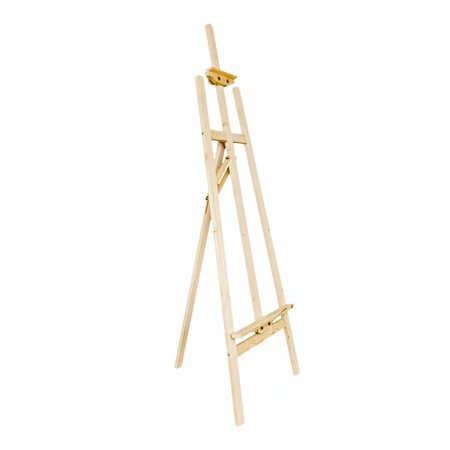 145cm Durable Spruce Wood Wood Easel Wood Color ()