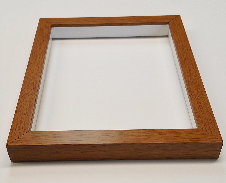 shadowbox gallery wood frames black 6 x 6 walmartcom - Wood Photo Frames