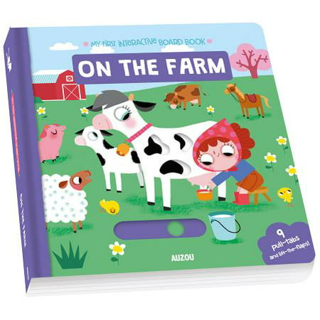 My First Interactive Board Book: On the Farm (Board Book)