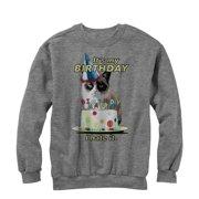 Grumpy Cat Men's It's My Birthday Sweatshirt