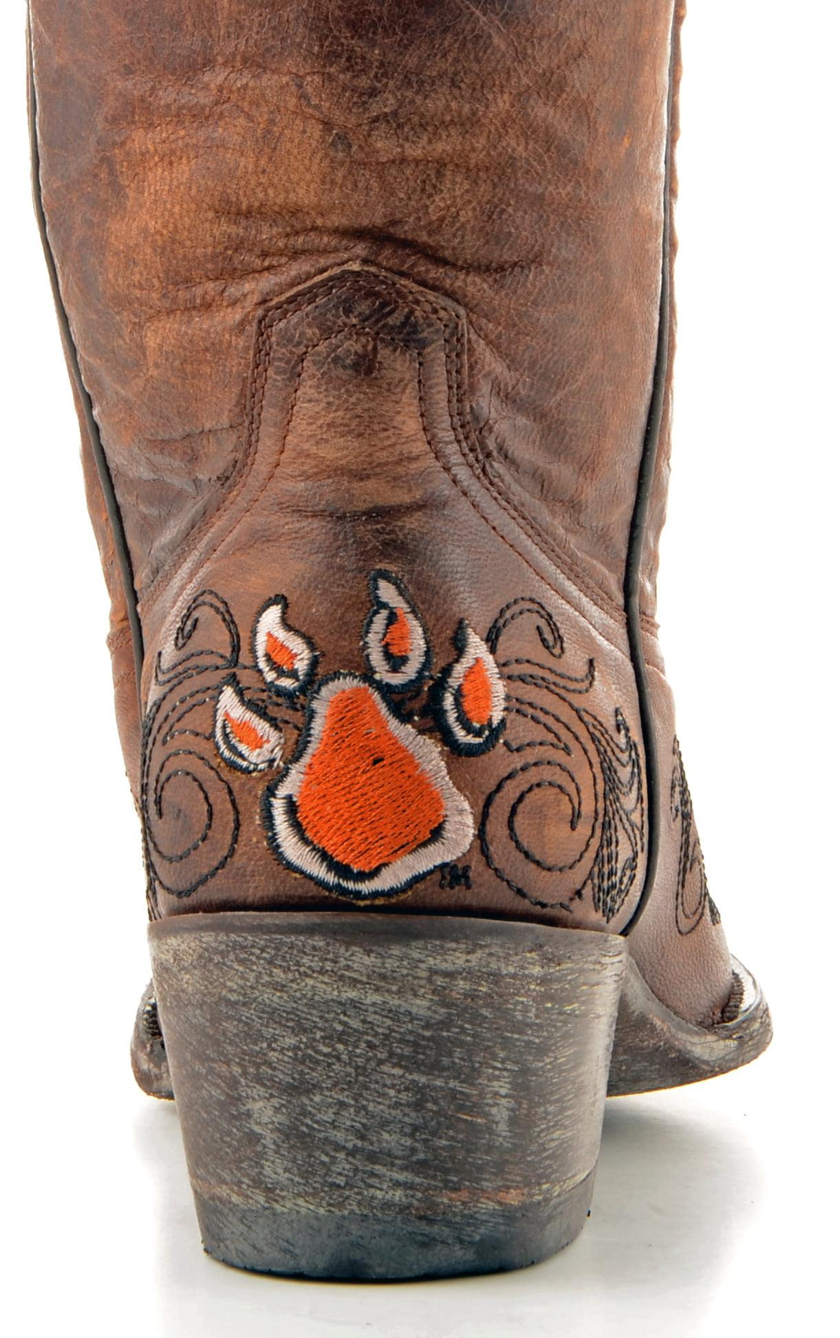 "Gameday Womens 13"" Leather Sam Houston St Cowboy Boots SAM-L026"