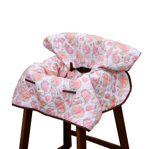 Pam Grace - Grocery Cart Cover, Pam's Paisley