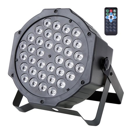 Par Lights 36 LED Remote and DMX Control Stage Party Lights Sound Activated RGB - image 4 of 7