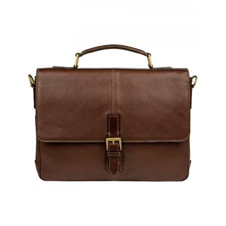 Men's Scully Briefcase Workbag 904 Chocolate OSFA