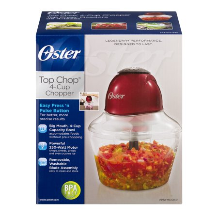 Oster Top Chop 4-Cup Chopper, 1.0 CT