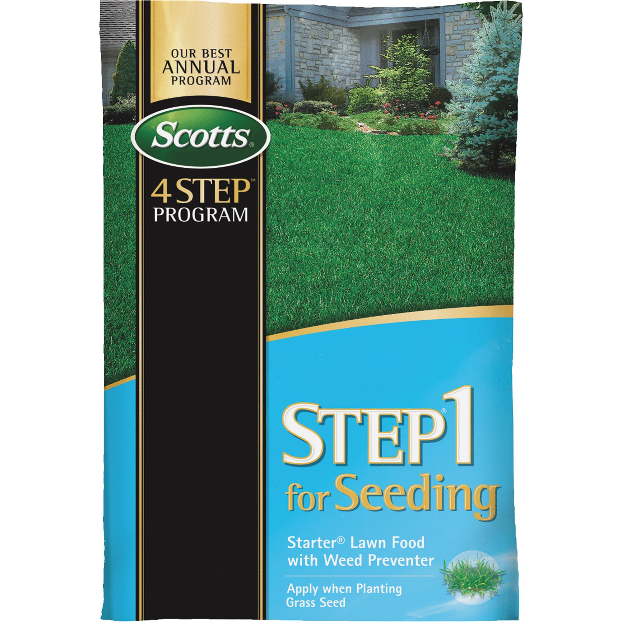 Scotts 4-Step Program Step 1 Starter Fertilizer With Crabgrass ...