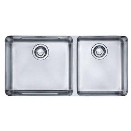 Franke kbx12034 kubus undermount kitchen sink stainless steel franke kbx12034 kubus undermount kitchen sink stainless steel workwithnaturefo