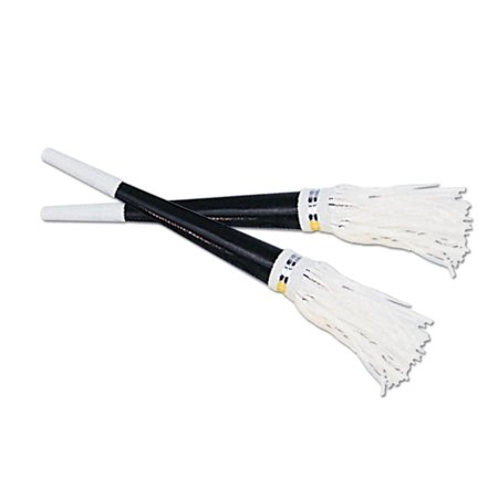Club Pack of 100 Black and White New Year's Eve Tasseled Trumpet Horn Party Favors 9