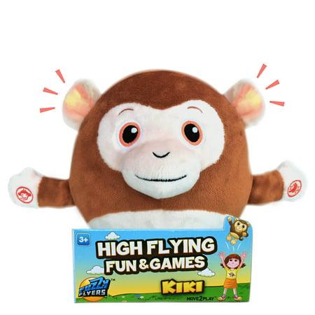Fuzzy Flyers: Kiki, Interactive Talking Plush Animal That Gets Kids Moving! - Fuzzy Animals