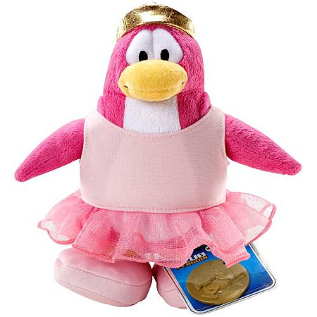 - Club Penguin Series 2 Ballerina Plush Figure