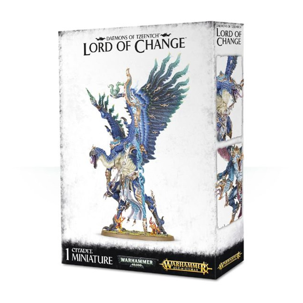 Daemons of Tzeentch Lord of Change Warhammer Age of Sigmar Plastic Model Set by Games Workshop