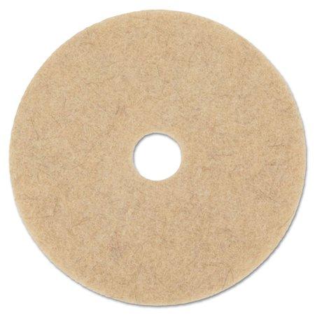 Diameter Natural Hair 5 Pads (NATURAL HOG HAIR BURNISHING FLOOR PADS, 17